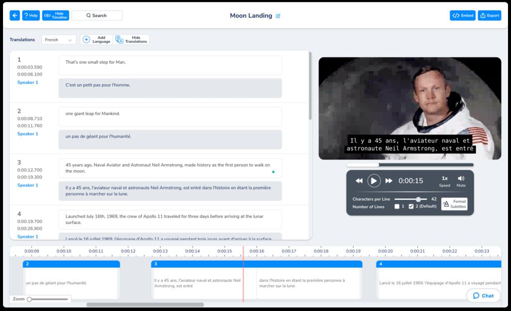 Target Keywords in Multiple Languages Subtitles Translate Your Video Transcript