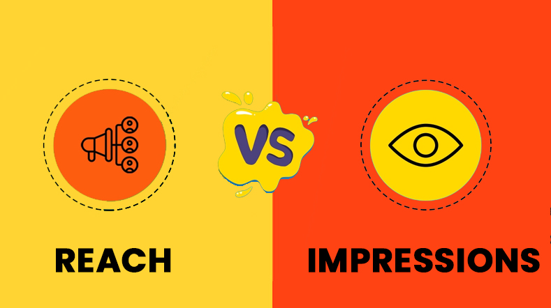 Difference Between Reach Vs Impressions