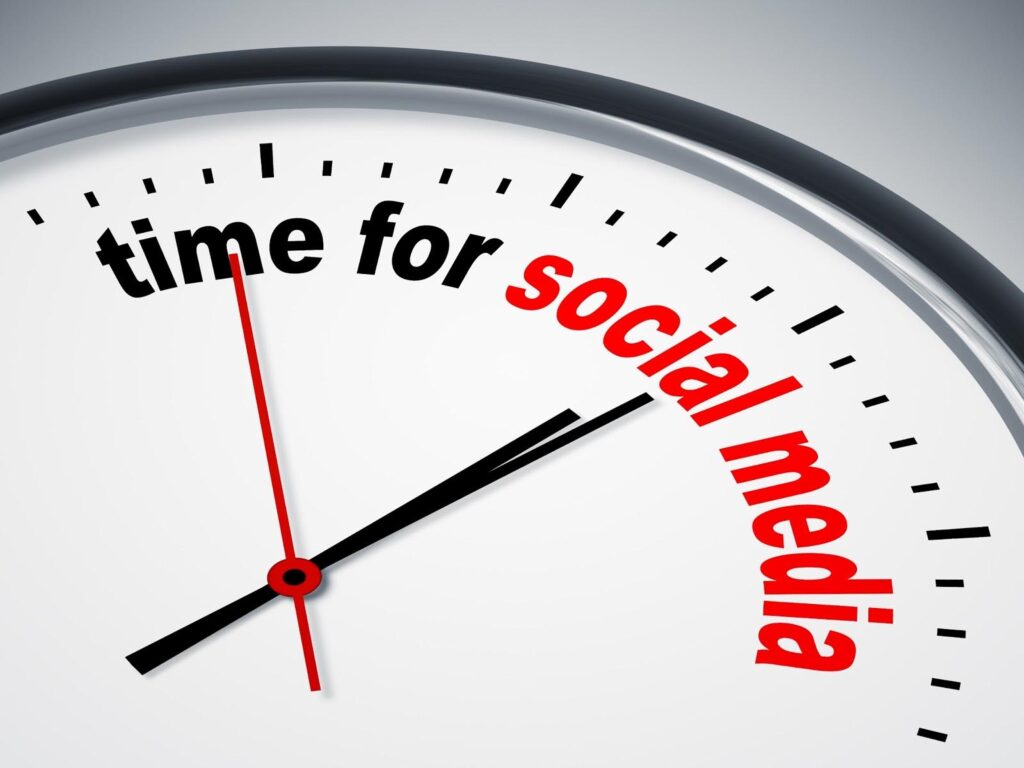 Utilize Higher Engagement Time for Your Social Media Posts